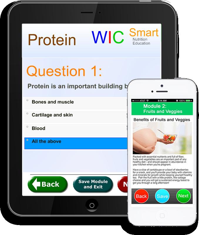 WICSmart  Mobile WIC Nutrition
